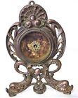 Antique Waterbury Cast Iron Shelf Novelty Clock - RUNS - Porpoises