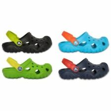 Scarpe nere zoccoli Crocs per bambini dai 2 ai 16 anni
