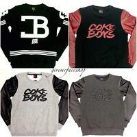 Coke boys sweatshirts, boys, mens urban retro vintage jumpers, hip hop urban