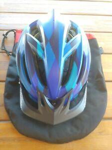 TROY LEE DESIGNS A2 MIPS blue grey decoy HELMET XL 2XL with bag