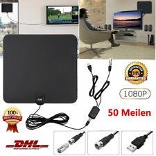 DVB-T/ DVB-T2 50 Meilen Verstärker Digitale Antenne Für HDTV Fernseher Antenne