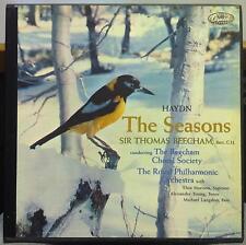 BEECHAM haydn the seasons 3 LP VG+ GCR-7184 Capitol EMI 1959 Mono USA Complete