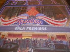 STYX,PARADISE THEATRE LP LASER ETCHED Record,FOC