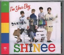 SHINee: I'm your boy (2014) Japan / CD & CARD TAIWAN