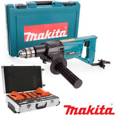 Makita 8406 Diamond Core Drill Rotary With Case 110v + 11pc Dry Diamond Core Set