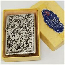 Briquet argent* insert Zippo 2517191 *essence Lighter STERLING SILVER.box