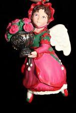 Hallmark Keepsake Christmas Ornaments Collector's Series - Rose Angel - 1999
