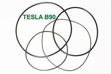 SET RIEMEN TESLA B 90 TONBANDMASCHINE EXTRA STRONG FABRICKFRISCH NEU B90 B-90