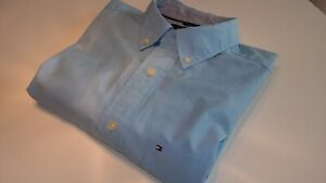 Tommy Hilfiger Men's Shirt - Short sleeve - Size S/P (Small)