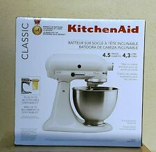 NEW! SEALED KitchenAid Classic Series 4.5Qt Tilt-Head White Stand Mixer K45SSWH