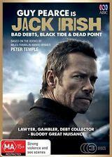 Jack Irish - Bad Debts / Black Tide / Dead Point (DVD, 2014, 3-Disc Set)