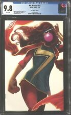 Ms. Marvel (2018) # 31 CGC 9.8 Hans Frankie's Comics Virgin Variant! Sold Out!!