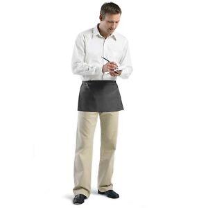 Augusta Sportswear Triple Divided Pouch Pocket Natural Twill Waist Apron. 2115