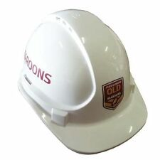 2017 State of Origin QLD Queensland Maroons Light Weight Vented Safety Hard Hat