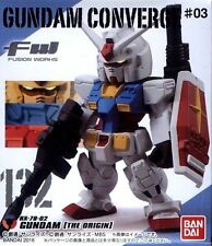 Bandai FW Fusion Works GUNDAM CONVERGE #03 No.132 RX-78-2 GUNDAM [THE ORIGIN]