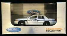 Welly Hopkinton MASSACHUSETTS Police car. FCV 1:43