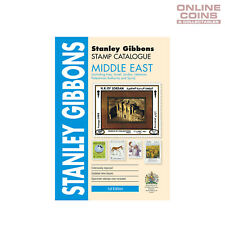 2018 Stanley Gibbons - Stamp Catalogue Middle East Soft Cover Book 1st Edition