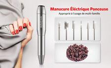 Kit Professionnel Ponceuse Manucure éléctrique Pour Ongles Pédicure Lime A Ongle