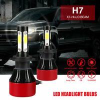 H7 250W 30000LM 4 SIDE LED Conversion Headlight KIT 6000K Bulbs White Bright