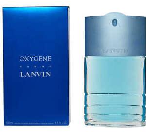 Lanvin Homme Oxygene 100ml EDT FREE P&P