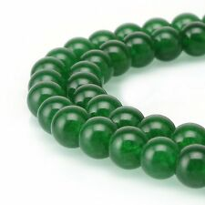 AAA Natural Chrysoprase Green Agate Gemstone Loose Round Beads 10mm Spacer Beads