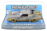 """Scalextric """"Weathered"""" Mad Max Ford XB Falcon DPR W/ Lights 1/32 Slot Car C3983"""