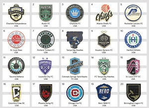 Metal Pin United States Football Clubs Part 2