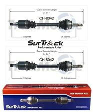 For Dodge Charger Shelby 1985-1986 FWD Pair of Front CV Axle Shafts SurTrack Set