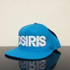 OSIRIS SHOES NYC SNAP BACK TURQUOISE WHITE CAP HAT (ONE SIZE)
