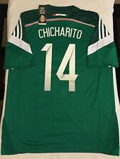 MEXICO CHICHARITO SOCCER JERSEY WORLD CUP BRASIL 2014 AMERICA CHIVAS PUMAS USA