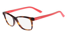 Valentino Eyeglasses V2694 c. 279 in Havana with Coral Temples 53mm