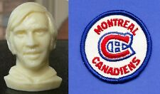 1971 COLGATE HOCKEY HEAD KEN DRYDEN canadiens rookie year RC + free team crest