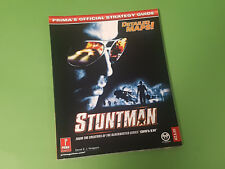 Stuntman - Prima Official Strategy Guide - Playstation 2 PS2