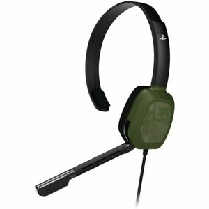 PDP PS4 Afterglow LVL1 Wired Headset -  Green Camo™