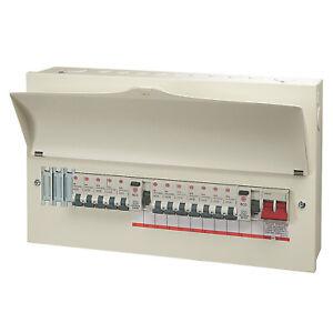 Wylex Consumer Unit 21 Module 12 Way Populated High Integrity Dual RCD