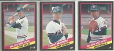 1988 CMC  25-card Toledo Mud Hens Minor League Team Set Chris Hoiles