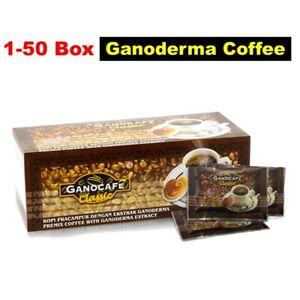 1-50 Box Instant Ganoderma Black Coffee GANO EXCEL Boldest Classic Cafe Reishi