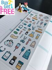 S297- Doctor Appointment, Medical,Medical Tools: Planner Stickers Erin Condren
