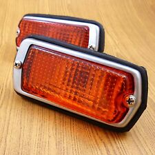 DATSUN 510 240Z 260Z 280Z 120Y B210 1200 Front Side Marker Lights Amber Lens