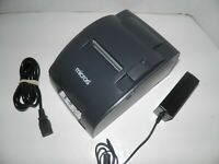 MICROS EPSON TM-U220B M188B Dot Matrix POS Receipt Printer Ethernet w power sup