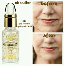 Hyaluronic Acid 24kt Gold the best Anti Ageing Wrinkle & Face Clarifying serum