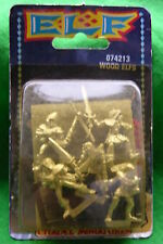 WARHAMMER WOOD ,WOOD ELVES x5,BLISTER UNOPENED