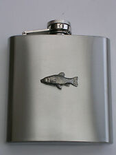 TENCH FISH FISHING  BRAND NEW 6OZ STAINLESS STEEL HIP FLASK great gift!!