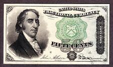 US 50c Fractional Currency Dexter 4th Issue FR 1379 Gem CU