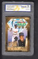 Frank Thomas 1996 Bleachers Diamond Stars Big Hurt 2x MVP 23 KT Gold Card WCG 10
