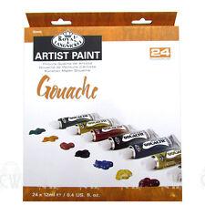 Royal Langnickel Artist Gouache 24 x 12ml Paint Tube Box Set. Assorted Colours