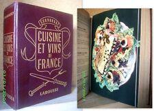 """""""CUISINE & VIN(S) DE FRANCE"""" Cooking Kuche Gastronomie Recette CURNONSKY 1953 !"""