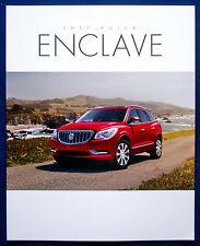 Prospekt brochure 2017 Buick Enclave (USA)