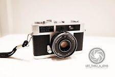 Chinon 35EE 35mm Rangefinder Film Camera with strap lomo retro