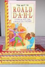 Roald Dahl x 4 Charlie And The Chocolate Factory, James And The Giant Peach etc